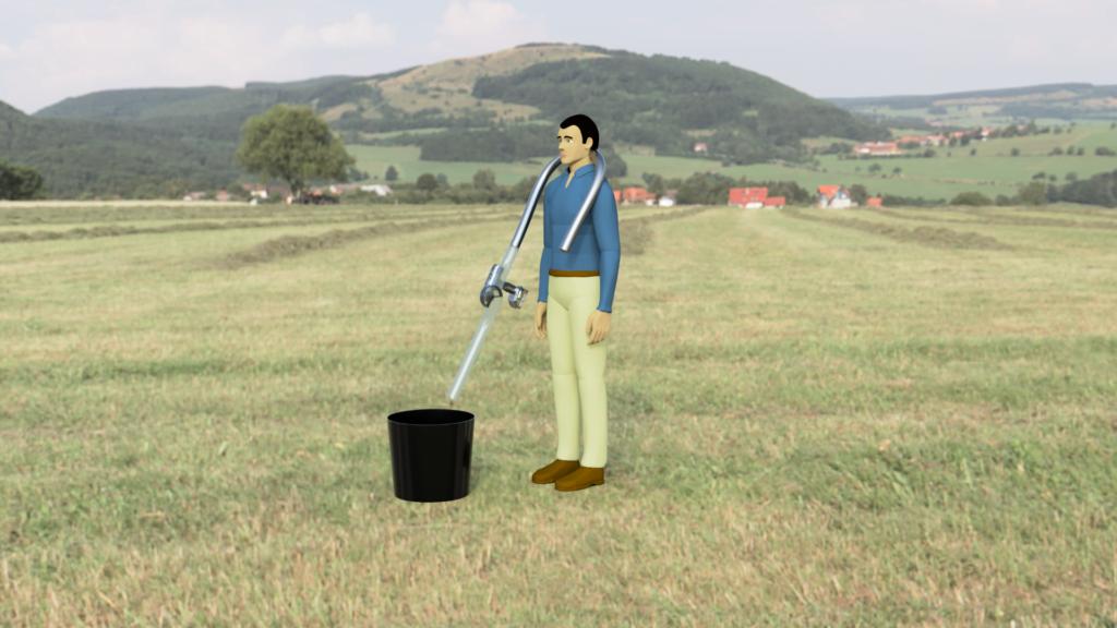 In Field Fertilizer Dispenser